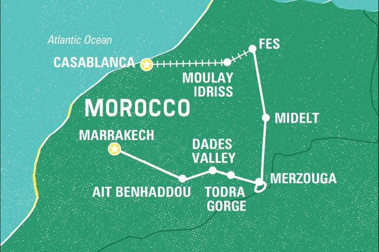 Cultural Culture Essential Morocco package