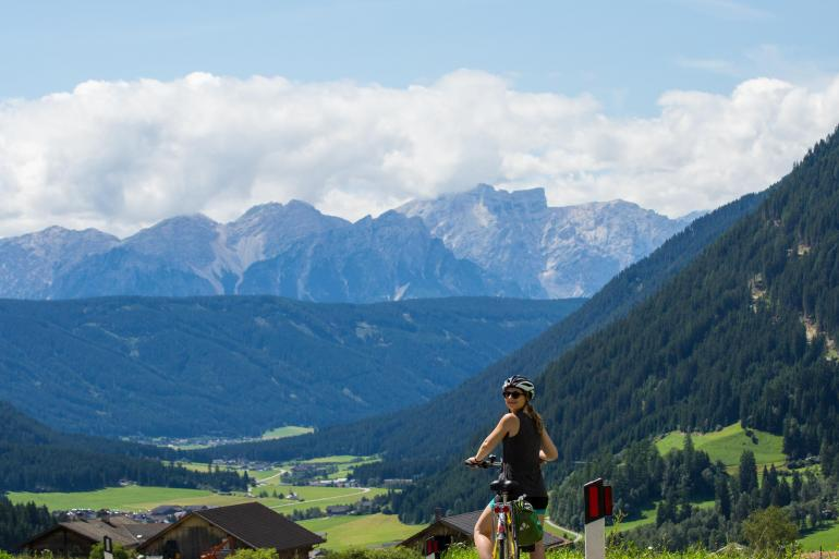 Dolomites Centre-Based Family Cycling tour