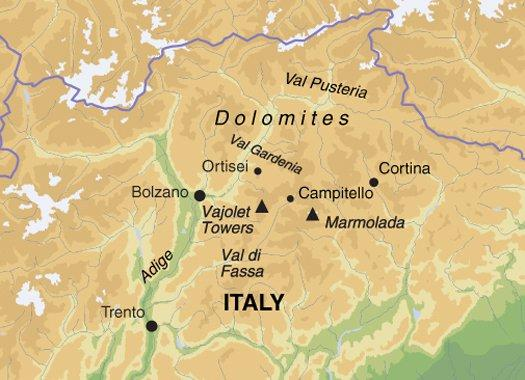 Trekking & Expeditions Hiking Highlights of the Dolomites package