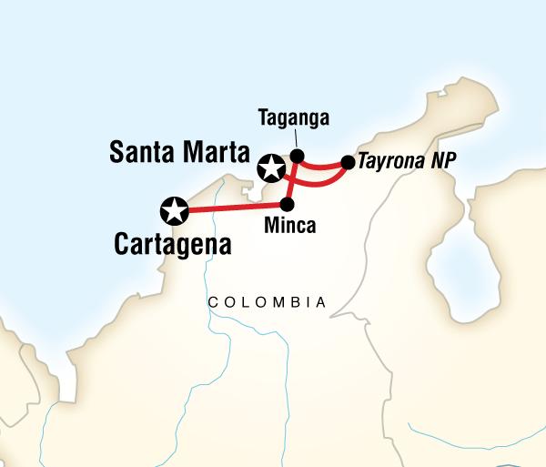 Caribbean Cartagena Caribbean Colombia Express Trip
