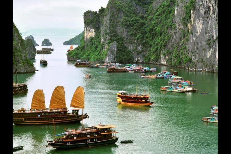 Ha Long Bay Hanoi Cycle Vietnam Trip