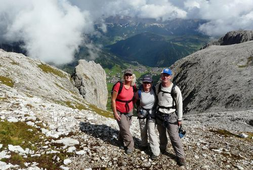 Dolomites Guided Walk tour