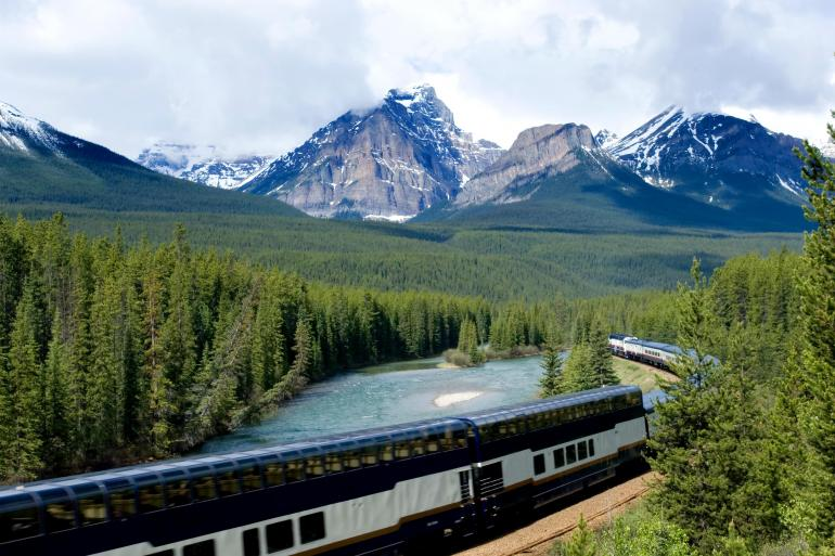 Calgary Jasper Canadian Rockies by Train Trip