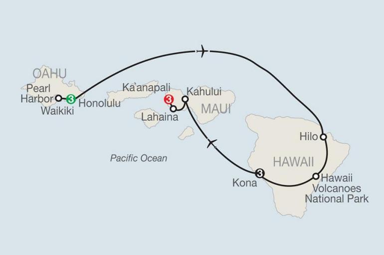 Hawaii Hawaii Volcanoes National Park Best of the Hawaiian Islands Trip