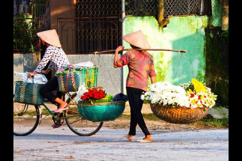Cycle Vietnam tour
