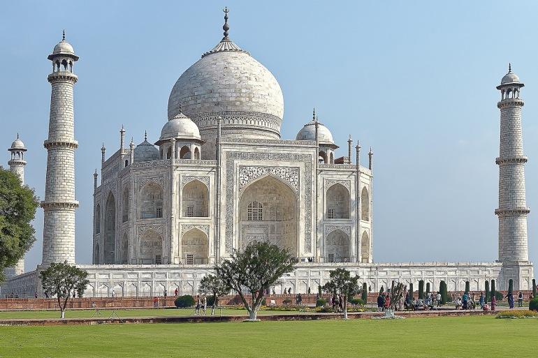 Beautiful and Architectural Taj Mahal, India