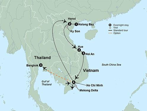 Cultural Culture Taste of Vietnam package