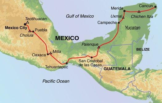 Palenque San Cristobal Mexico: Mayans, Aztecs & Conquistadors Day of the Dead Festival Trip