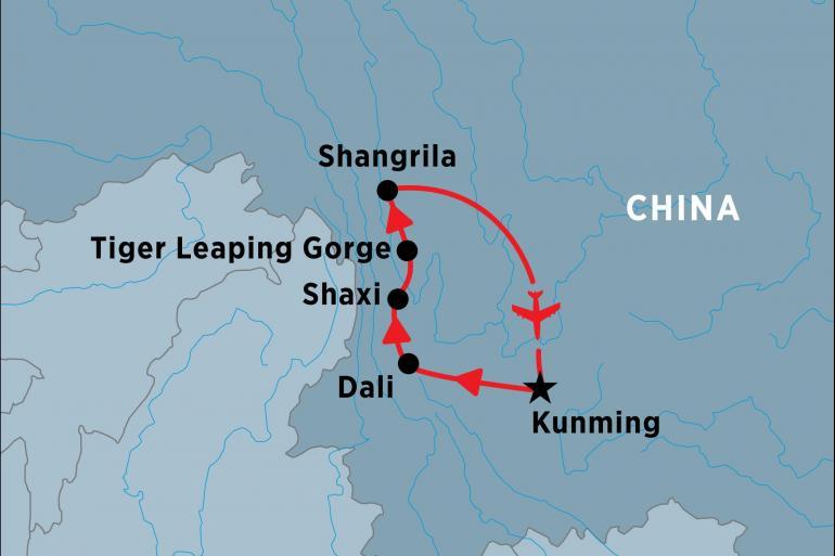 Hong Kong Kunming Wonders of Yunnan Trip