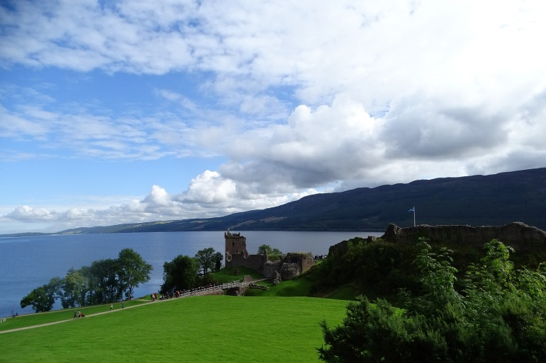 Landscape of Loch ness, Scotland