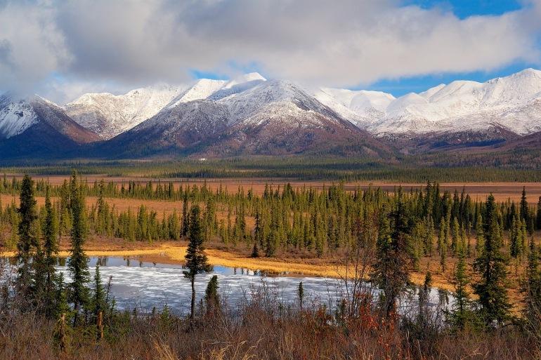Scenic landscape of wrangell st elias national park-Alaska-2008424