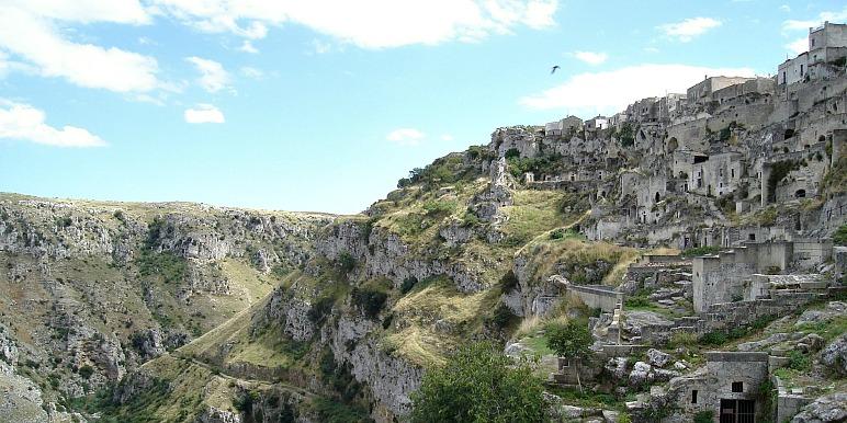 Sassi di Matera caves