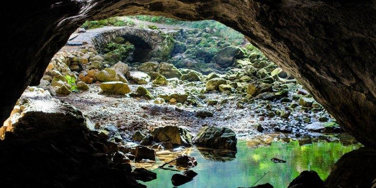 skocjan cave in slovenia