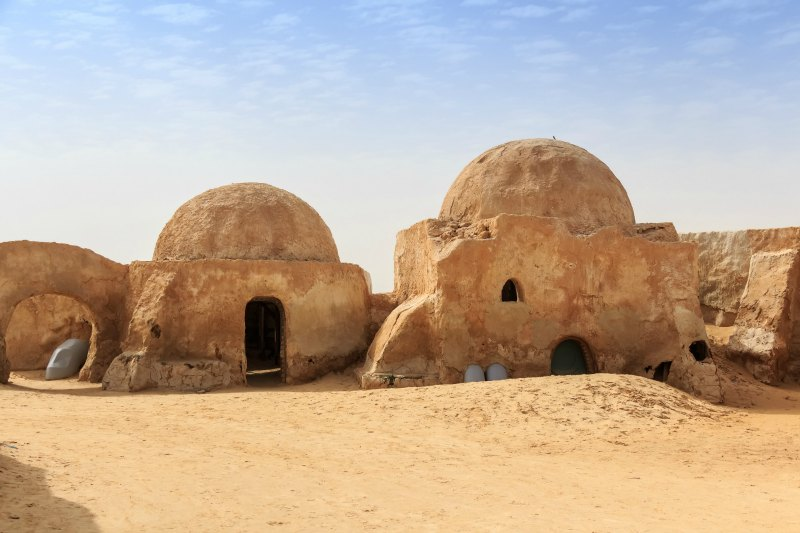 Star Wars Location in Tunisia