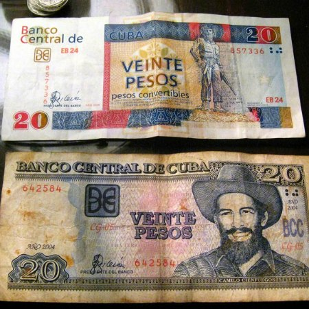 Two Dual Currencies in Cuba