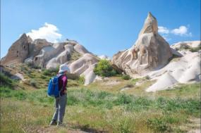 Walking in Cappadocia tour
