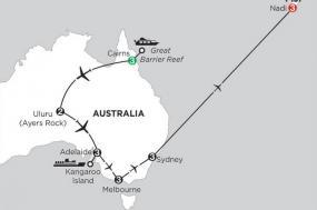 Aussie Adventure with Fiji tour