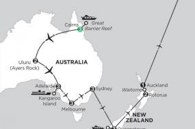 Aussie Adventure with Queenstown, Rotorua & Fiji tour