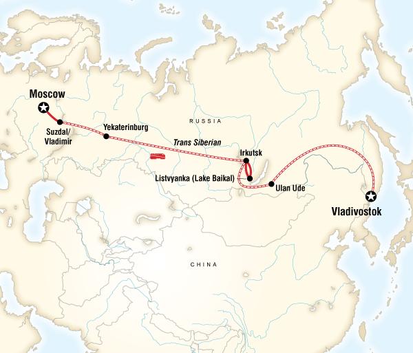 Irkutsk Lake Baikal Epic Trans-Siberian Journey Trip