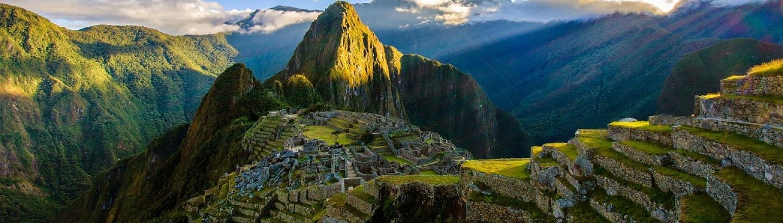 Machu Picchu view, Peru