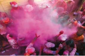 Holi Festival of Colours tour