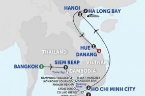 Ultimate Southeast Asia & The Majestic Mekong with Hue & Danang - Southbound tour