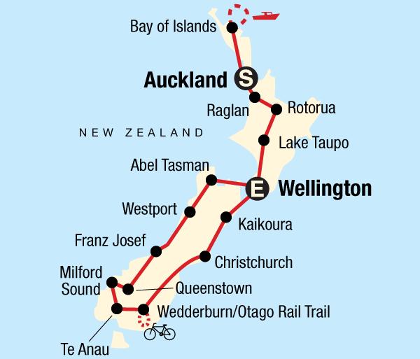 Abel Tasman National Park Alps New Zealand Encompassed Trip