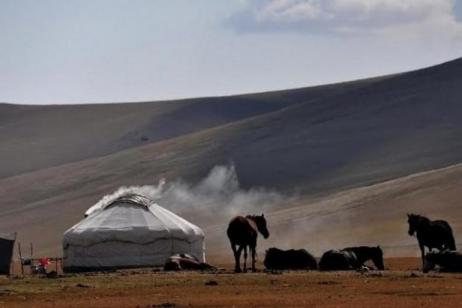 Camel riding Safaris in the Steppes of Central Asia tour