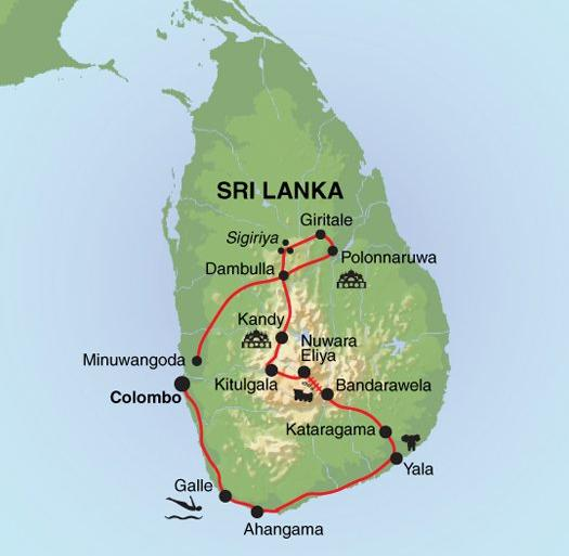 Nature & Wildlife Nature Discover Sri Lanka - Premium package