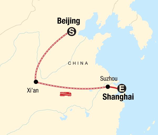 Beijing Shanghai China Express Trip