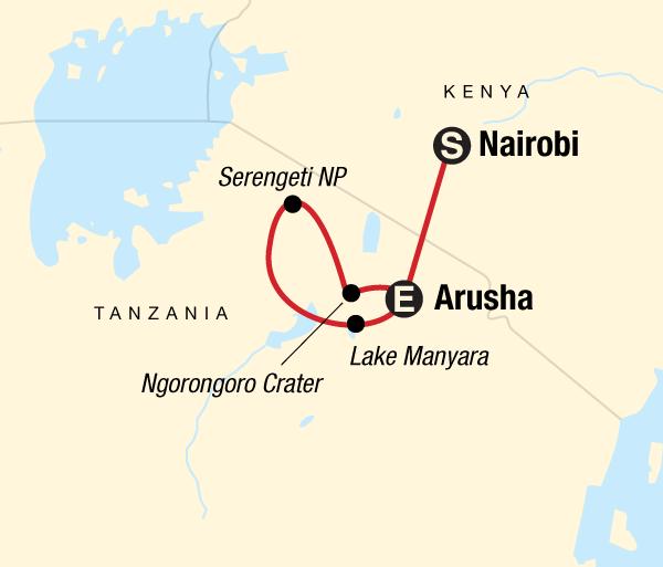 Arusha Lake Manyara National Park Tanzania Camping Safari Trip