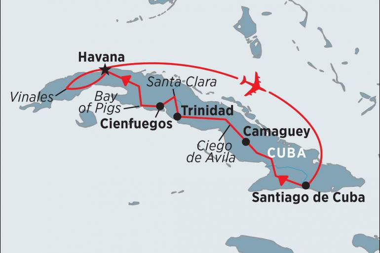 Havana Santiago Cuba Highlights Trip