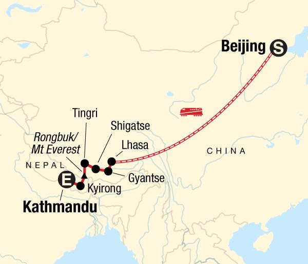 Beijing Everest Base Camp Tibet Adventure Trip