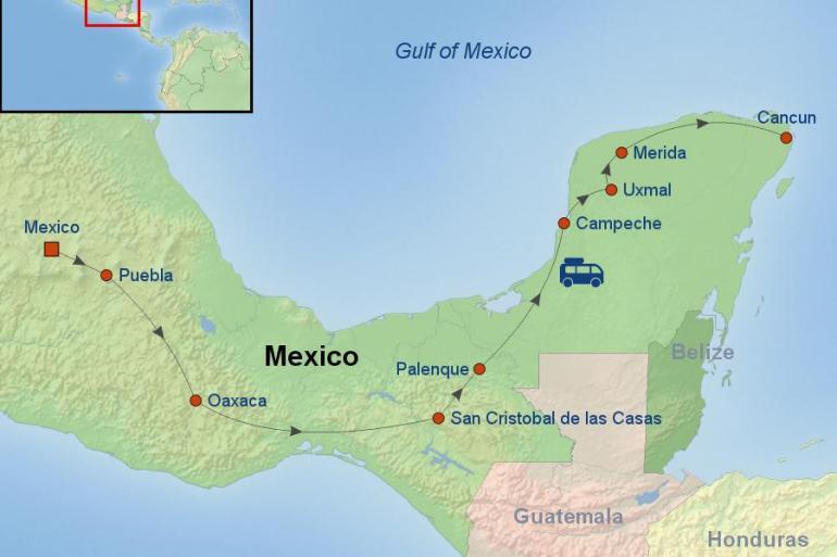 Mexico City Palenque Magical Mexico Trip