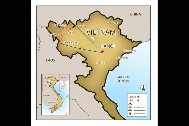 Cycling Cycling Mountain Biking Vietnam's Northwest Mountains (6 days) package