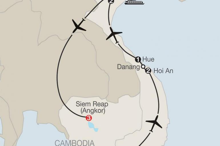 Ha Long Bay Hanoi Vietnam & Cambodia: A Grand Adventure Trip