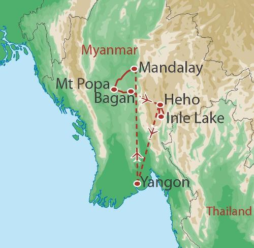 Cycling Cycling Cycle Myanmar package