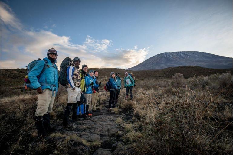 Hiking & Walking Trekking Serengeti & Kilimanjaro package