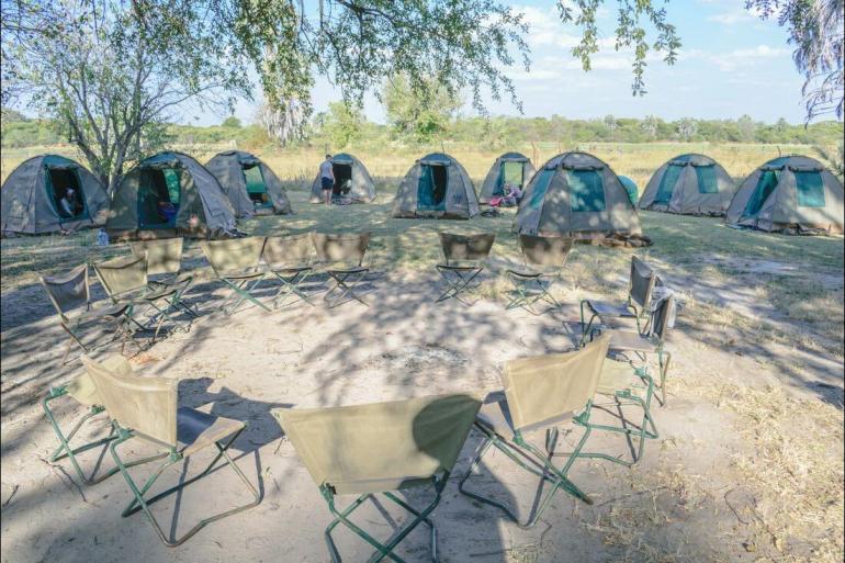 Okavango Delta Queen Elizabeth National Park Johannesburg to Gorillas Trip