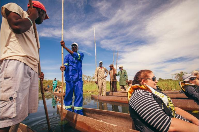 Cape Town Dar es Salaam Africa Encompassed Southbound Trip