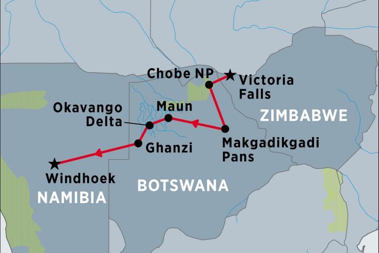Okavango Delta Victoria Experience Botswana Trip
