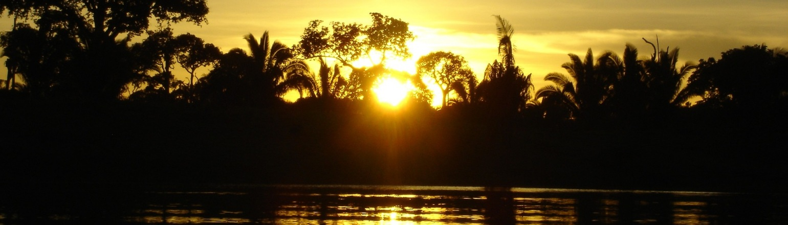 Sunset over the Amazon, top river cruise experience