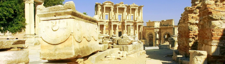 Archaeological site Ephesus tour in Turkey