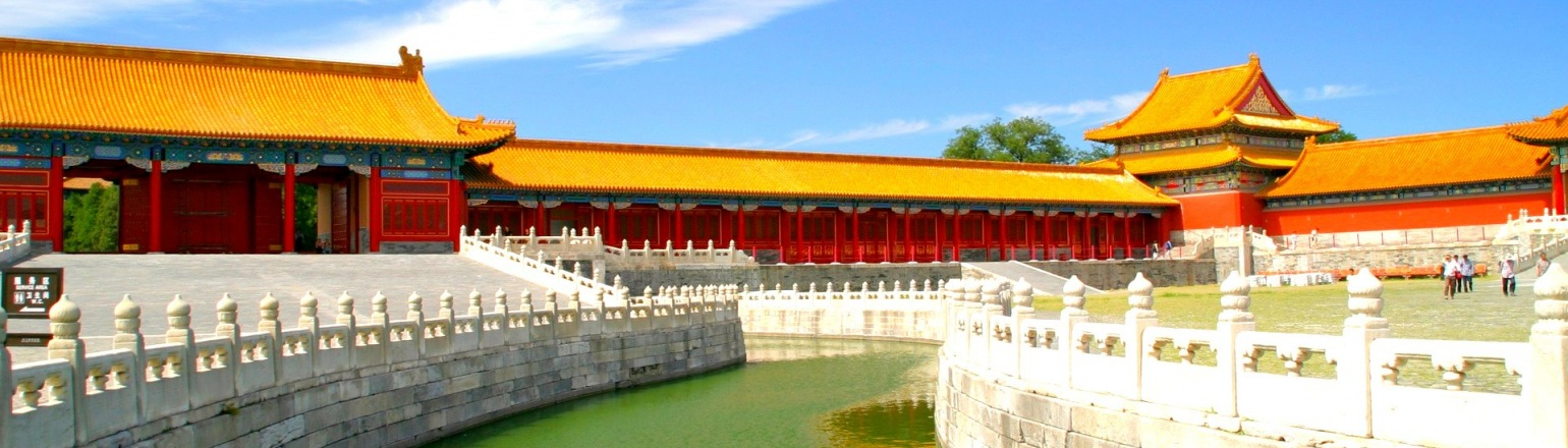 Touring the historic Forbidden City in China