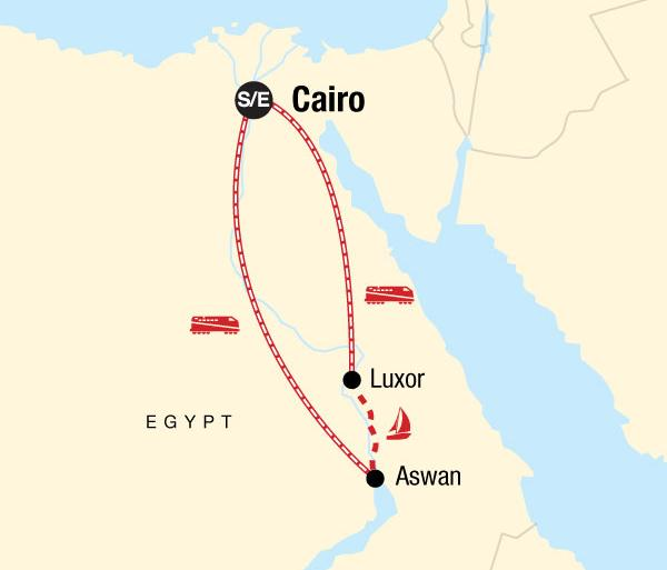 Abu Simbel Aswan Egypt on a Shoestring Trip