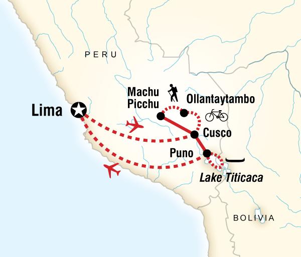 Cusco Inca Trail Peru Multisport Trip