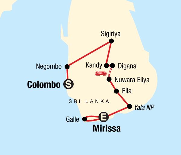 Colombo Negombo Sri Lanka Encompassed Trip