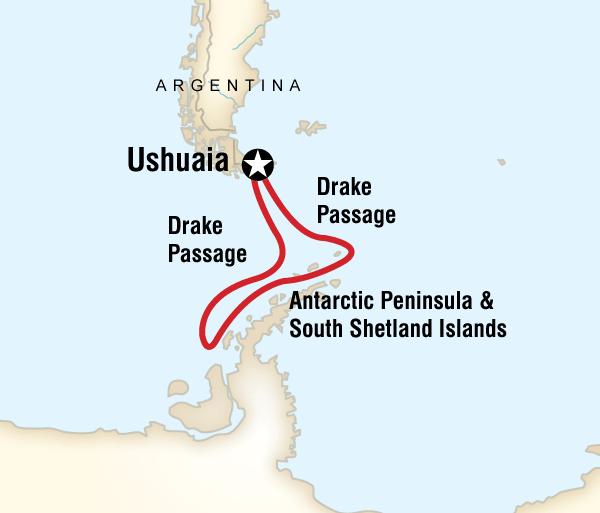 Antarctic Peninsula Shetland Islands Quest for the Antarctic Circle Trip