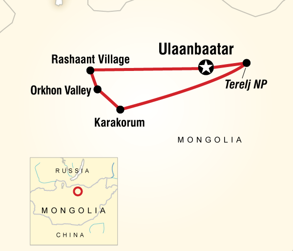 Transformative Culture Local Living Mongolia—Nomadic Life package