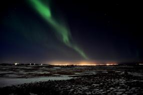East Greenland: Northern Lights tour